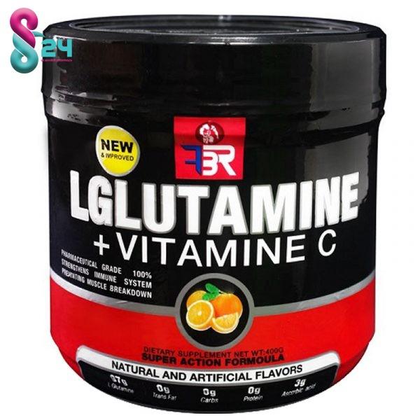 پودر گلوتامین ویتامین سی اف بی ار
