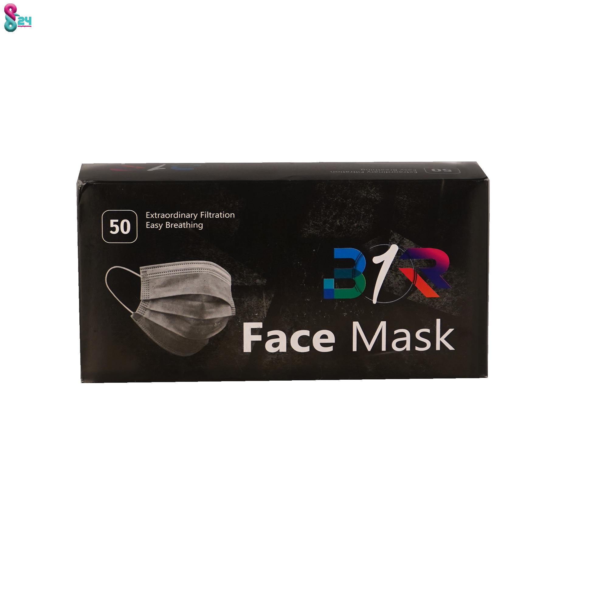 ماسک سه لایه پزشکی در رنگ بندی مختلف