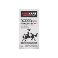 کاندوم سوئیس کر مدل Rodeo بسته 12 عدد
