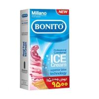 کاندوم بونیتو مدل Ice Cream بسته 6 عدد