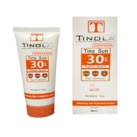 کرم ضد آفتاب و روشن کننده SPF 30 تینولا